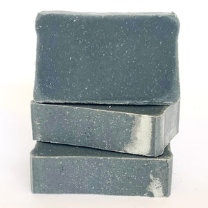Charcoal Detox with Sand Olive Oil Soap with Beeswax