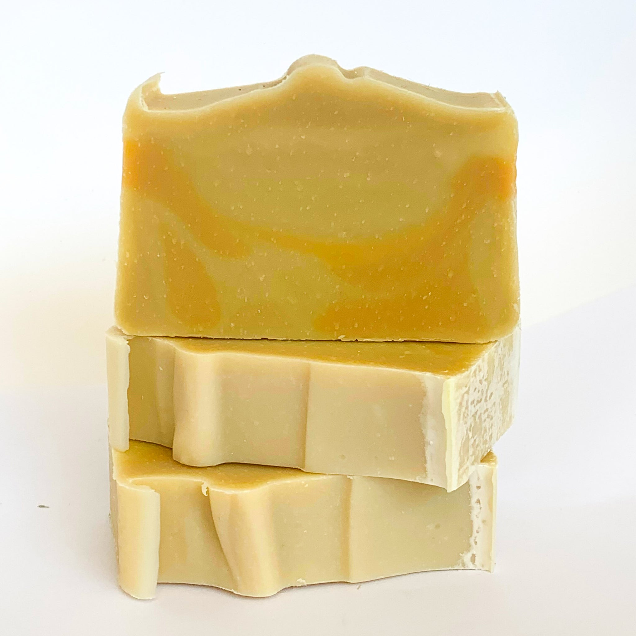 Pineapple and Mango Olive Oil Soap with Beeswax