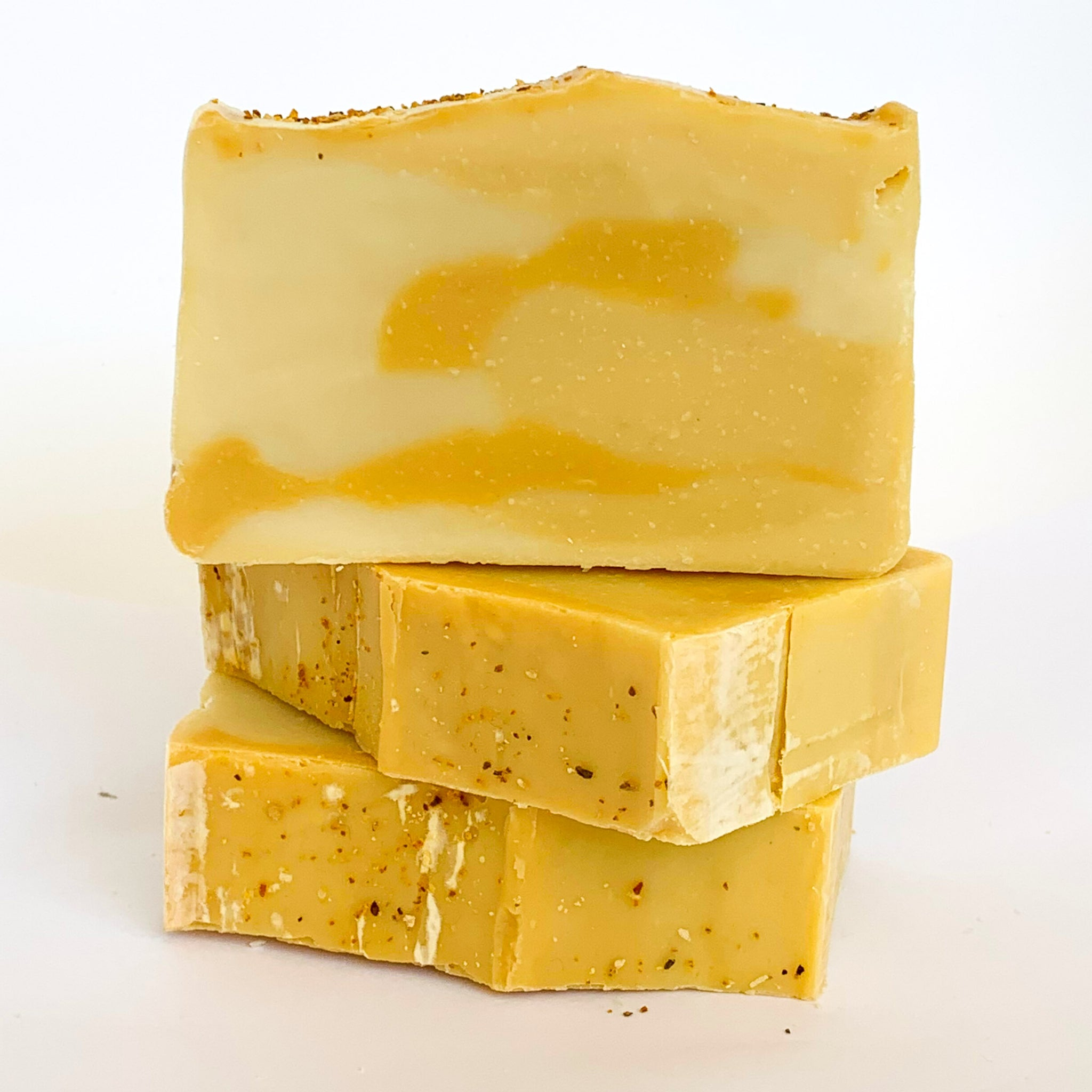 Lemongrass Olive Oil Soap with Beeswax