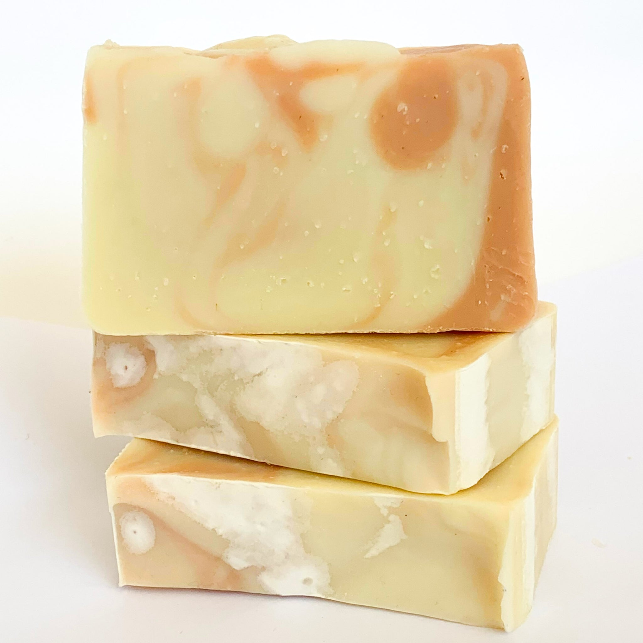 Orange Cedar Olive Oil Soap with Beeswax