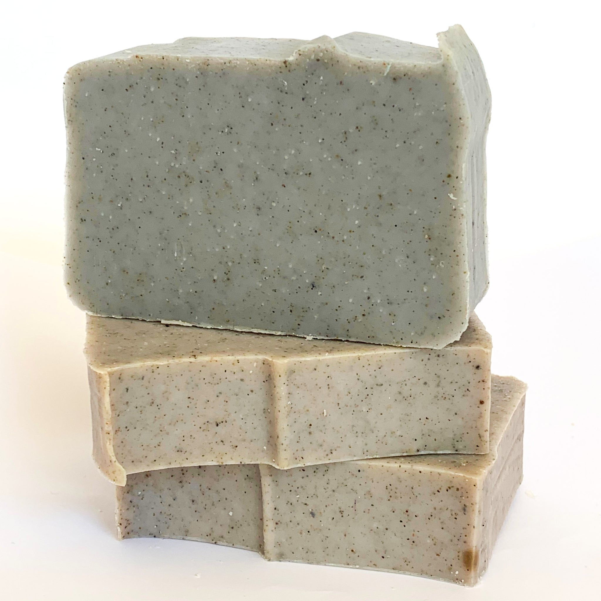 Blueberry with Sand Olive Oil Soap with Beeswax