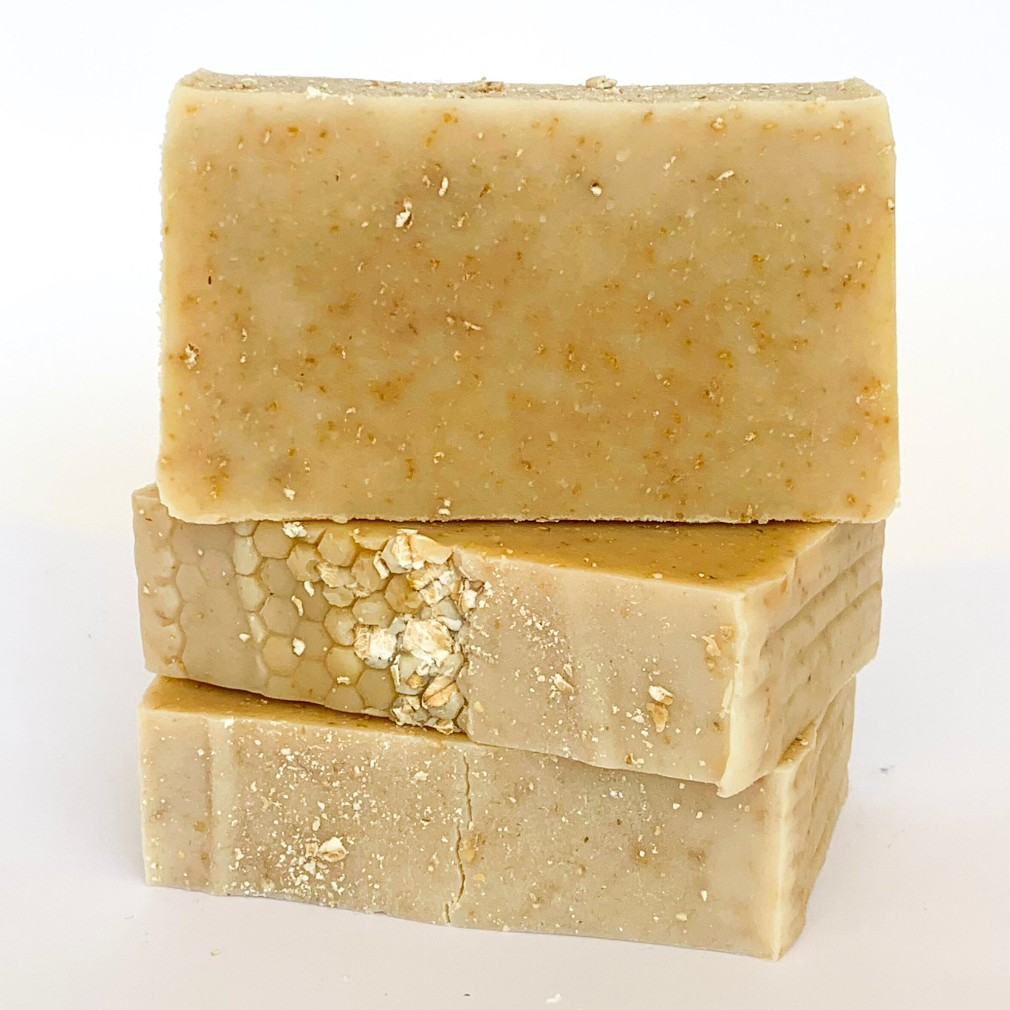 Oatmeal Olive Oil Soap with Beeswax