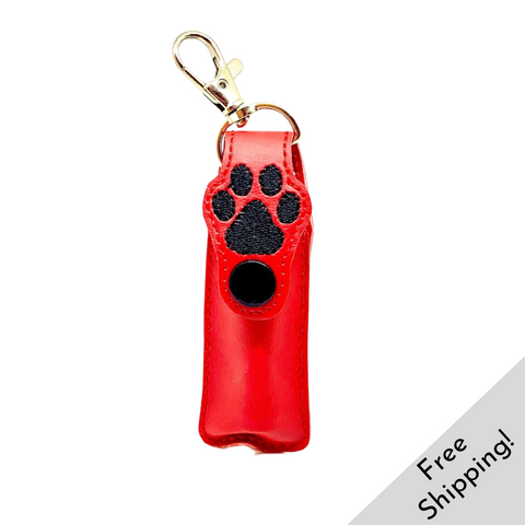 Puppy Paw Lip Balm Cases