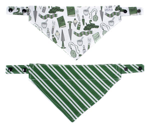 Magic slytherin - Bandana Réversible (NEW)