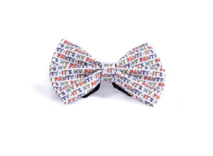 Love at first bite  - reverse side - Bow tie (NEW)