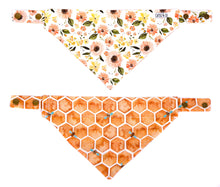 Load image into Gallery viewer, Bee kind  - Bandana réversible