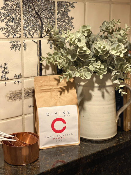 Spotlight on the decaf one... Mexican Single Origin