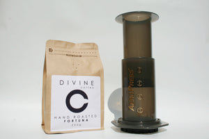 Divine Coffee 250g & Aeropress Bundle