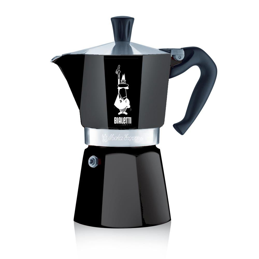Bialetti Moka Express Pot Black - 3 cup