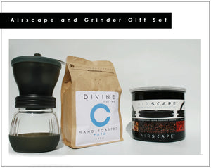 Airscape and Grinder Gift Set