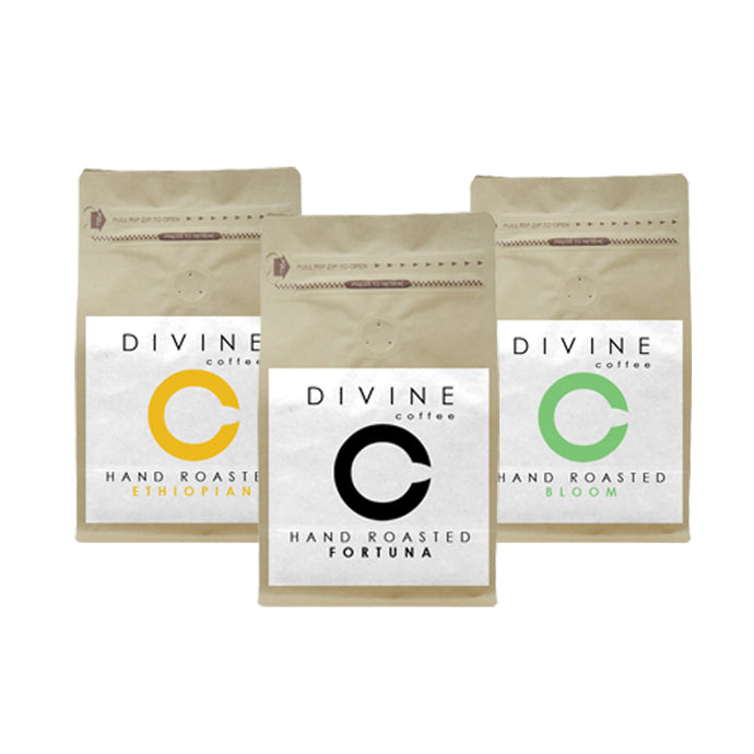 DIVINE ESPRESSO SELECTION PACK (3 UNIQUE COFFEES)