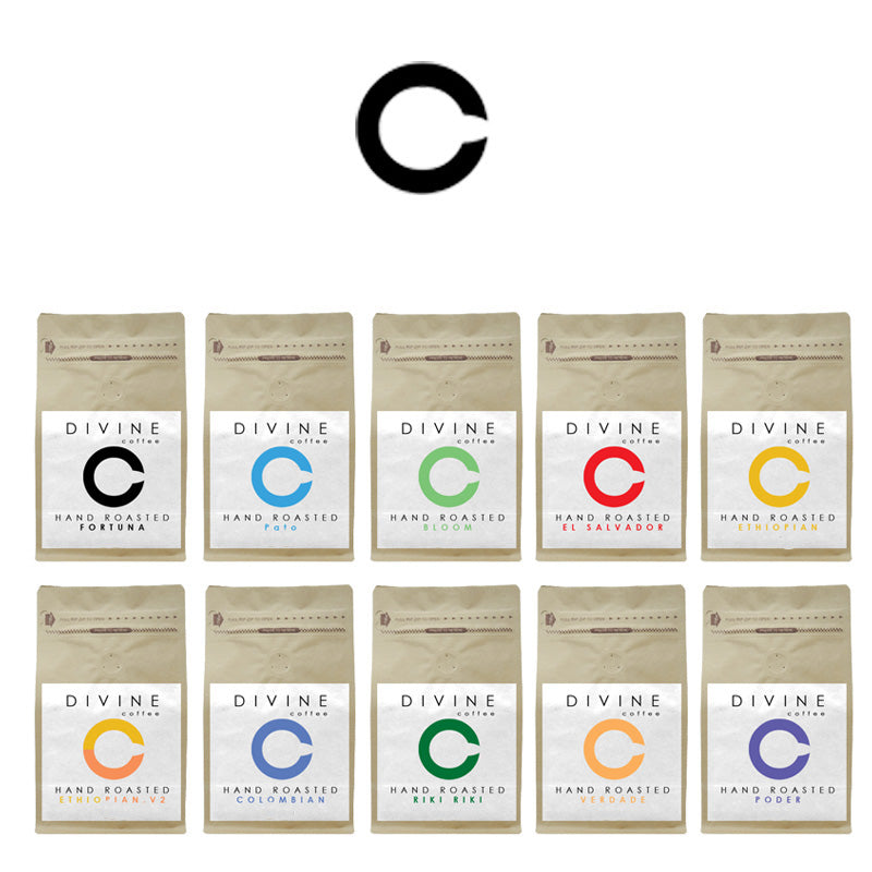 COMPLETE DIVINE SELECTION PACK (10 UNIQUE COFFEES)