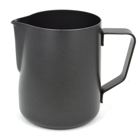 Matt Black Milk Jug 350-500ml