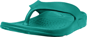 NuuSol Cascade Flip Flop Turquoise Rain Front Made In USA Flip Flops