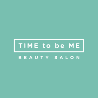 time to be me beauty salon logo