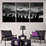 Lord of the Rings Canvas Art - Mystikz Gaming