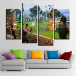 Fortnite Battle Royal Grenade Launcher Canvas Art