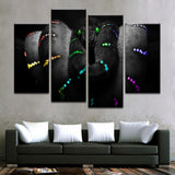 Illuminated Snake Canvas Art - Mystikz Gaming