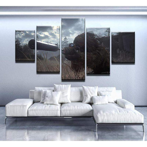 Call Of Duty Modern Warfare Canvas Art