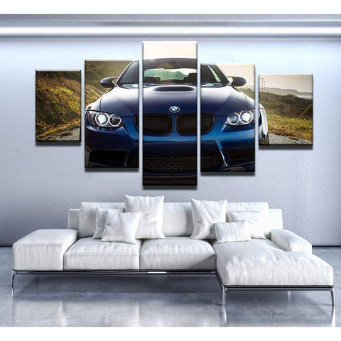 BMW E92 M3 Canvas Art
