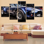 Vintage Car Canvas Art - Mystikz Gaming