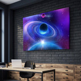 Secluded Worlds Canvas Art