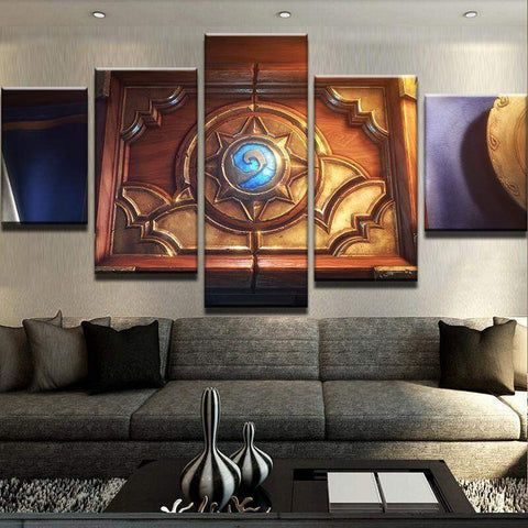 Hearthstone Box Canvas Art