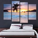 Coconut Sunset Beach Sea View Oil - Mystikz Gaming