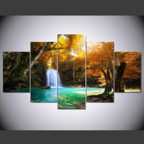 Landscape For Bedroom Beautiful Waterfall - Mystikz Gaming