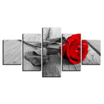 Rrose Flower Wood Board