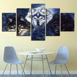 Abstract Animal Wolves For - Mystikz Gaming