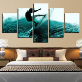 Surfing Surfer Waves Landscape