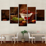 Decor Kitchen Rwine Fruits Classical Restaurant On - Mystikz Gaming