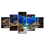 Underwater Sea Fish Coral Reefs Seascape