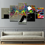Psychedelic Abstract Graffiti - Mystikz Gaming