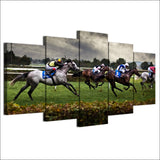Sports Fast Horse Racing
