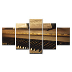 Vintage Piano Musical Instruments