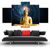 Framstarry Sky Figure Of Buddha Painting - Mystikz Gaming