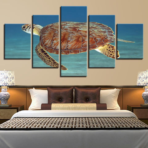 Animal Deep Sea Tortoise Seascape - Mystikz Gaming
