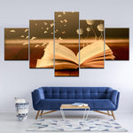 Decoration Romantic Flowerbook Art Wall - Mystikz Gaming