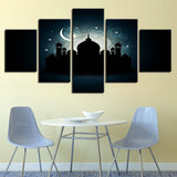 Mosque Ramadan Abstract Landscape - Mystikz Gaming