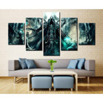 Diablo Reaper of Souls 5 Piece Canvas Art