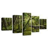Abstract Dream Green Forest Animal Deer - Mystikz Gaming