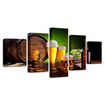 Kitchen Beer And Wine Glass Oak Barrels Restaurant - Mystikz Gaming
