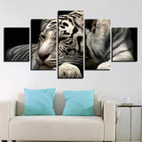 Animals White Tiger - Mystikz Gaming