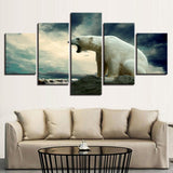 Roaring Polar Bear Animal