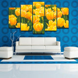 Decor Yellows Tulip Fram - Mystikz Gaming