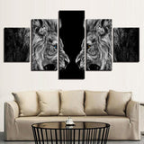 Roaring Lions Mirror Animal For