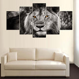 Abstract Photo Wallative Animal Lion - Mystikz Gaming