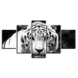 Animals Blue Eyes White Tiger - Mystikz Gaming